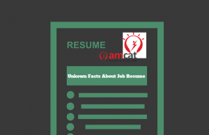 facts about a job resume