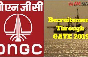 job in ONGC