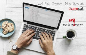 fresher jobs through amcat