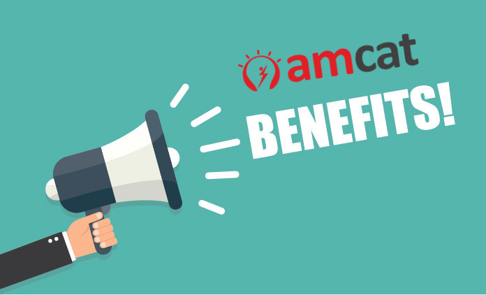 benefits of amcat exam