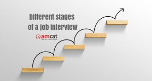 different stages in a job interview