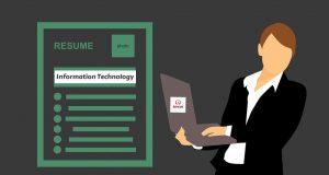 resume for IT graduates