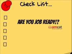 job readiness checklist