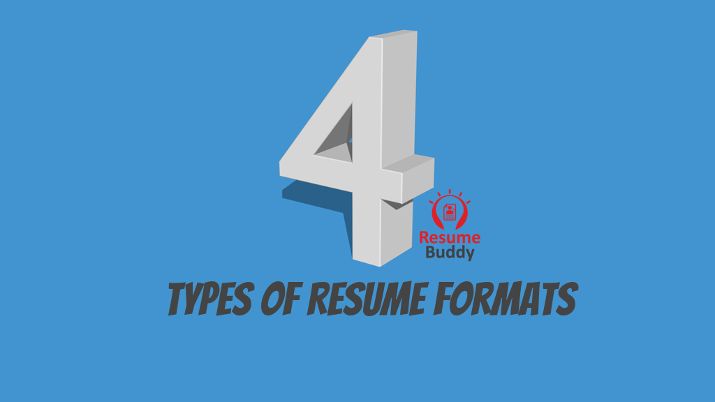 4 Types Of Job Resume Formats You Need To Refer