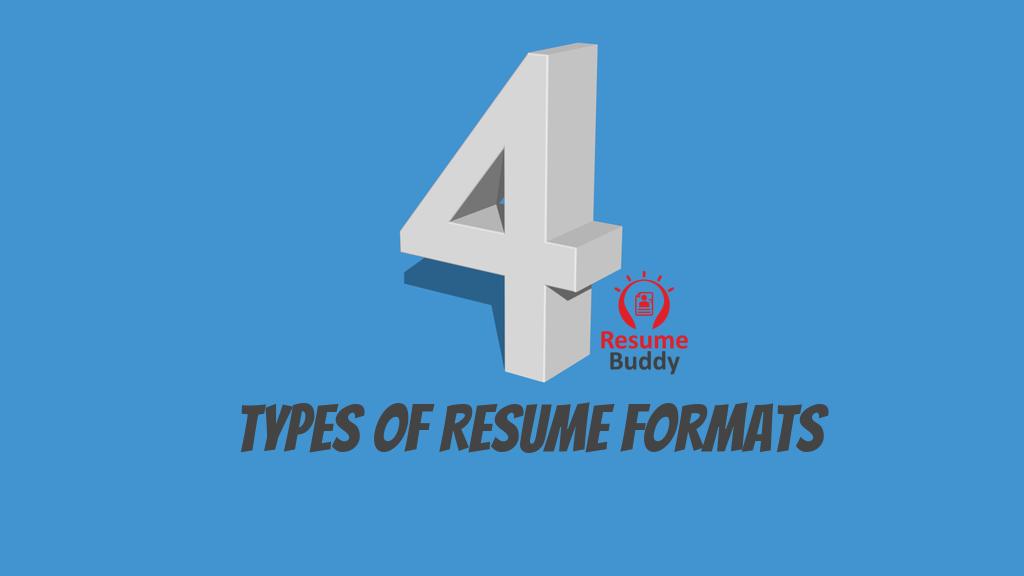 job resume formats