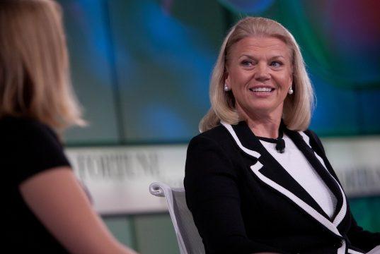 IBM chief talking about job skills