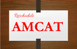 Reschedule AMCAT exam