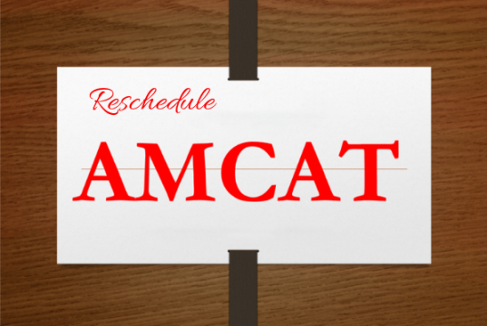 Reschedule AMCAT exam