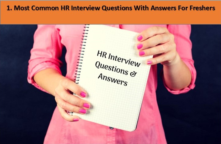 common interview questions with answers