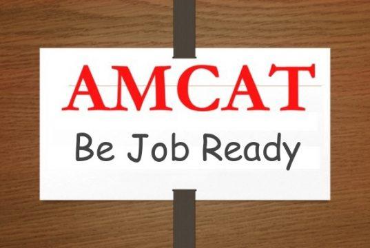 be job ready with AMCAT