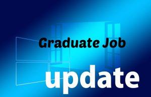 graduate job updates for freshers