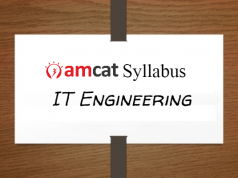 amcat syllabus for IT engineering