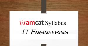 amcat syllabus for IT engineering