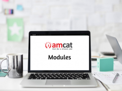 AMCAT exam - domain-specific modules