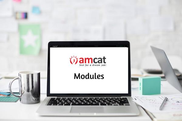 AMCAT exam - domain-specific modules