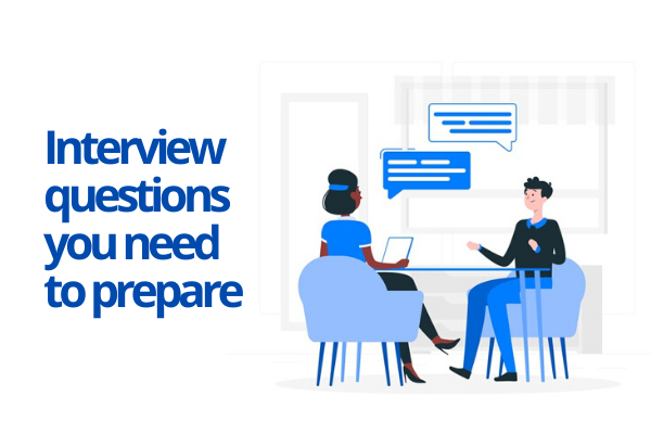 Create answers to common interview questions