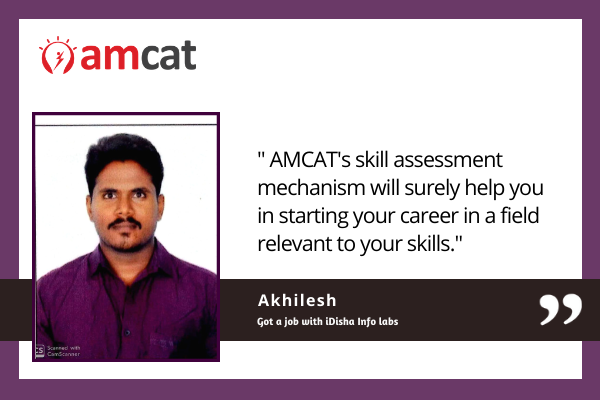 AMCAT exam success stories