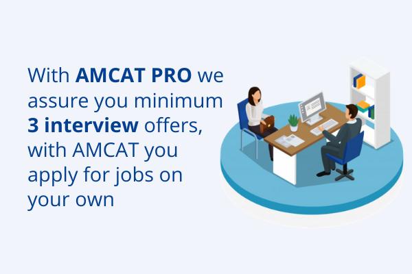 AMCAT PRO - your interview assurance program