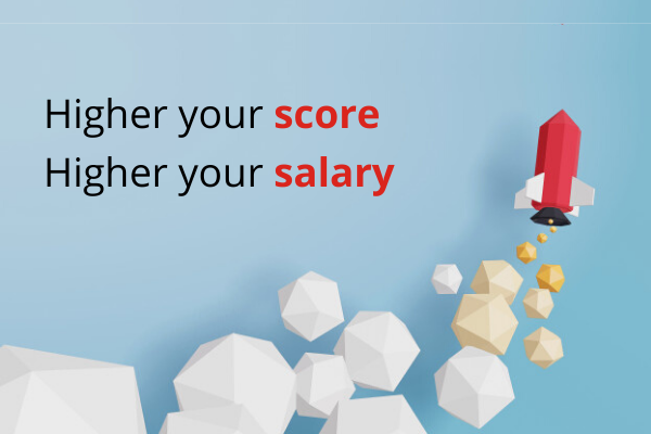 Score more to make the most of the guaranteed interviews offer.