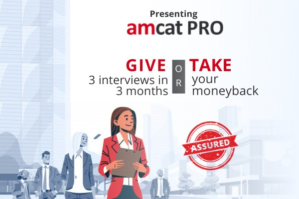 Start your job search with AMCAT PRO