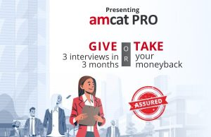 Your AMCAT score will help you find your dream opportunity