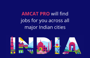 With AMCAT PRO find jobs in any part of India