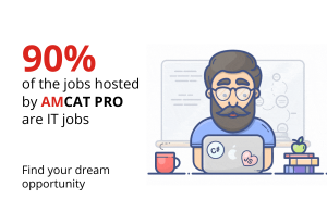 With AMCAT PRO enjoy assured interview opportunities