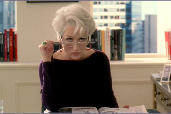 Meryl Streep's characters shows us that you can't really lie to your interviewer
