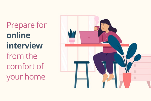 Continue your job interview preparation at home