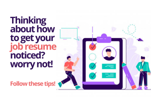 Time to dazzle the recruiter with your job resume