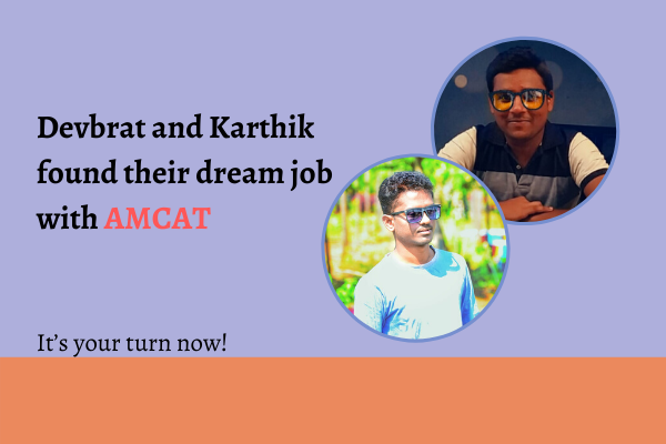 Find your dream job with the AMCAT exam.