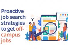 Job search tips for off-campus placements