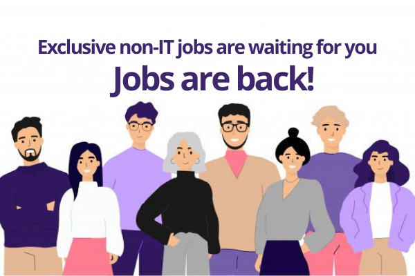 non-IT jobs for you to apply