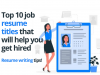 Highlight your candidature with these resume headlines