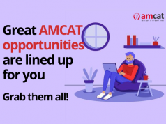 AMCAT exam opens doors to exclusive opportunities