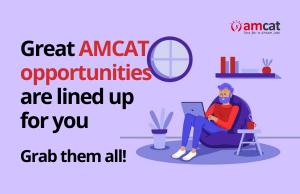 AMCAT exam opens doors to exclusive opportunities