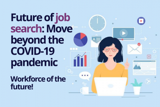 Impact of coronavirus pandemic on the future of job search