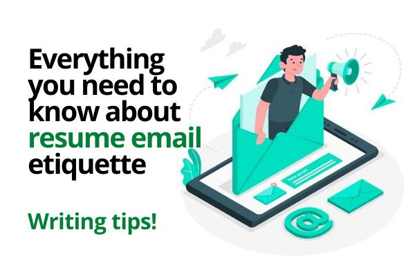 Job resume email writing tips