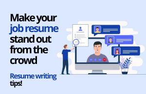 Tweak your job resumes as per the new trends
