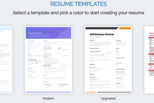 The second step towards your impeccable resume