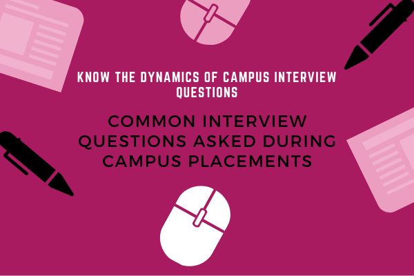 Interview Questions for Campus Placements