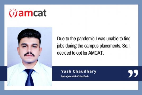 AMCAT exam - success story