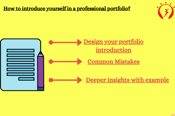 How to introduce yourself in a professional portfolio?