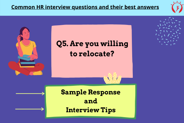 HR Interview -Are you willing to relocate?