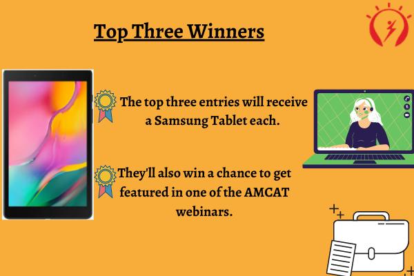 Top Three Winners