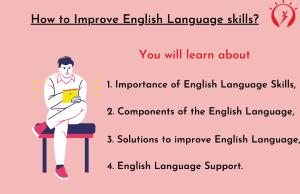 How to Improve English Language skills?