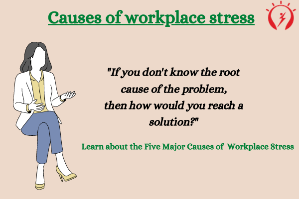 5 Causes of workplace stress