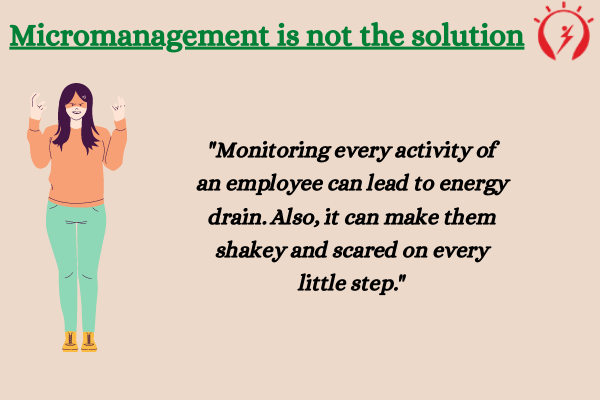 "Micromanagement is equivalent to ""Macro-Problems"""