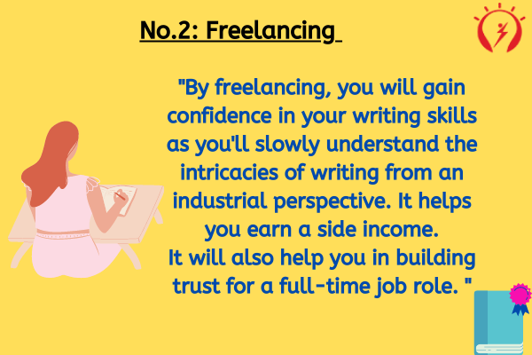 Freelancing for becoming a content writer