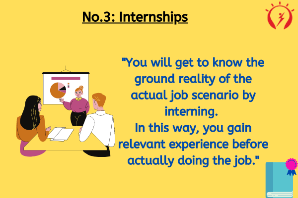No.3: Internships to become a content writer